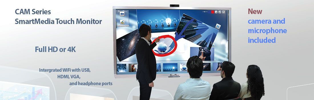 SmartMedia CAM Series Interactive Monitors