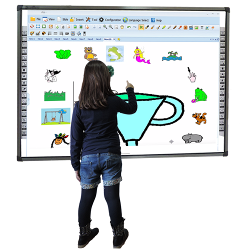 Interactive Digital Whiteboard 16 touch points IWB-IR16-F