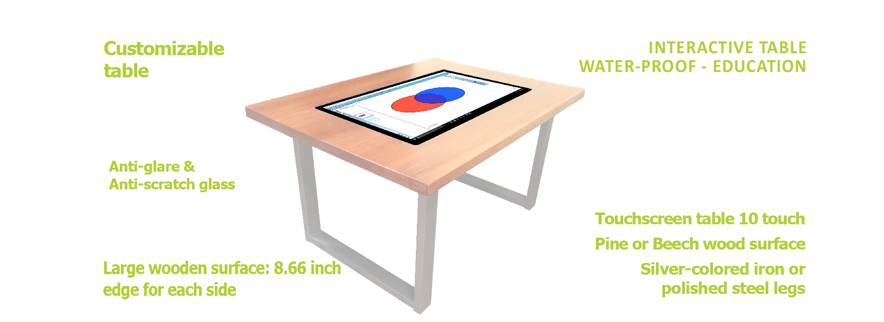 touch tables SmartMedia