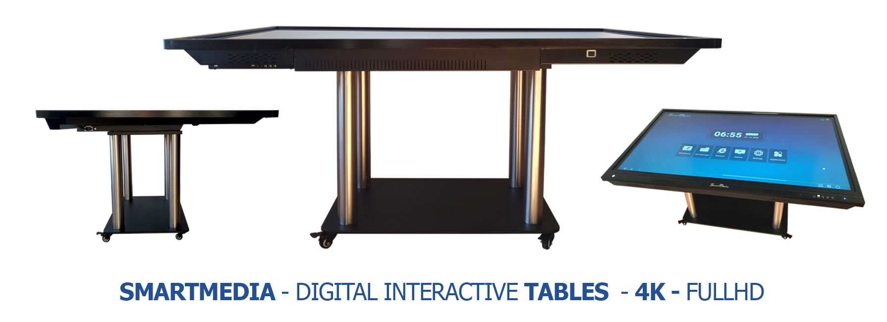 Interactive touch tables SmartMedia