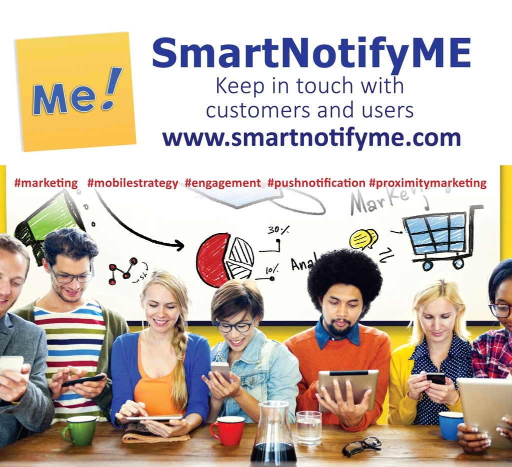 SmartNofityme, push notification tool for sending notification messages to Android and ioS devices