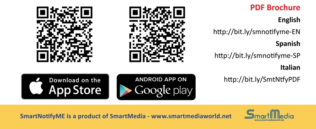 SmartNofityme, discover it! Look at PDf files and download the free app from google play or apple store