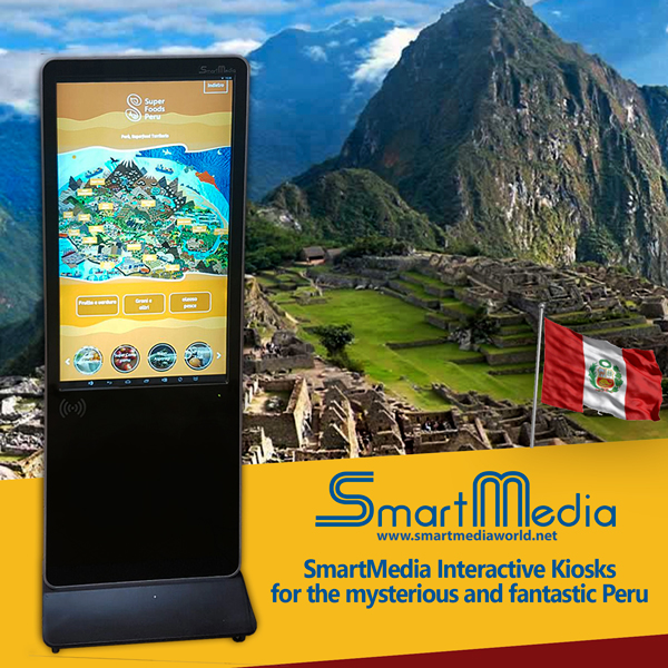 Interactive Kiosks for the Peruvian embassy in Italy